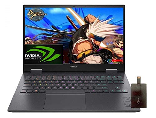 2020 HP OMEN Gaming Pc pc, 15.6″ FHD IPS 144Hz, AMD Ryzen 7 4800H 8-core(Beat i7-9850H), GeForce GTX 1660 Ti, 16GB DDR4 RAM, 512GB SSD,