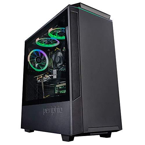 Periphio Phantom Gaming PC Tower Desktop Computer, Intel Quad Core i7 3.3GHz, 16GB RAM, 512GB SSD + 1TB 7200 RPM HDD, Dwelling windows 10, GTX 1660 Neat 6GB Graphics Card,