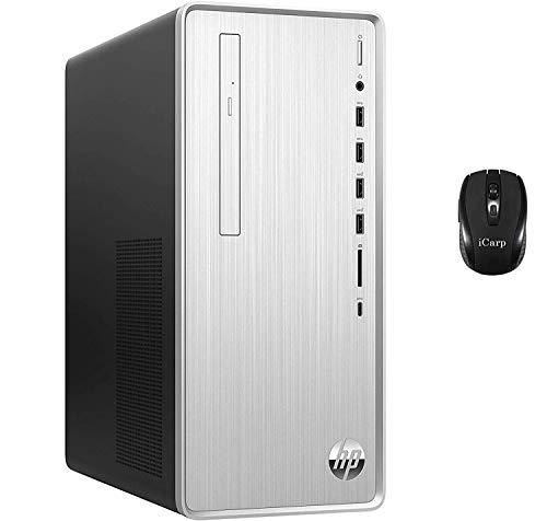 HP Pavilion Top rate Gaming Desktop Computer 9th Gen Intel Hexa-Core i5-9400 (Beats i7-7700HQ) 32GB DDR4 512GB PCIe SSD 1TB HDD 2GB AMD Radeon RX 550 DVD WiFi HDMI Take cling of 10 + iCarp Wi-fi Mouse
