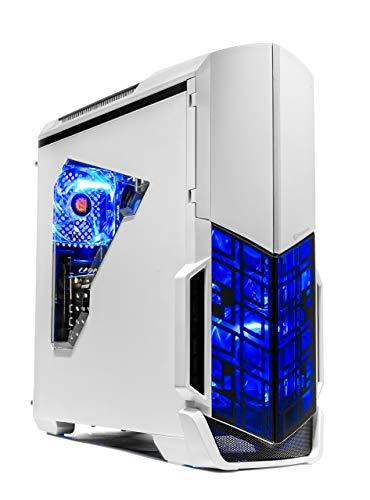 SkyTech Archangel VR Ready Gaming Pc Desktop PC – Ryzen 2600, AMD RX 580 4GB, 8GB DDR4, 500G SSD, Wi-Fi, DVD ROM, Windows 10 Dwelling 64-bit (Renewed)