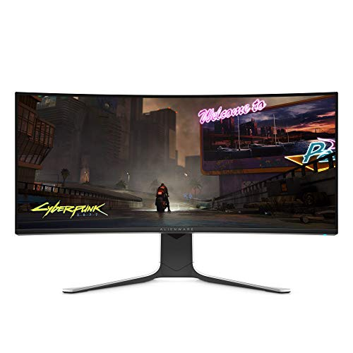 ALIENWARE AW3420DW NEW Curved 34 Fling WQHD 3440 X 1440 120Hz, Music, Lunar Gentle