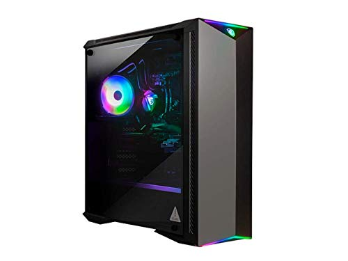 MSI Aegis RS-002US Gaming Desktop, Intel Core i7-9700 3.0GHz 8-Core, 16GB DDR4, 1TB PCIe SSD, NVIDIA GeForce RTX 2060 Immense 8GB, 802.11ax, Win10Home (Renewed)