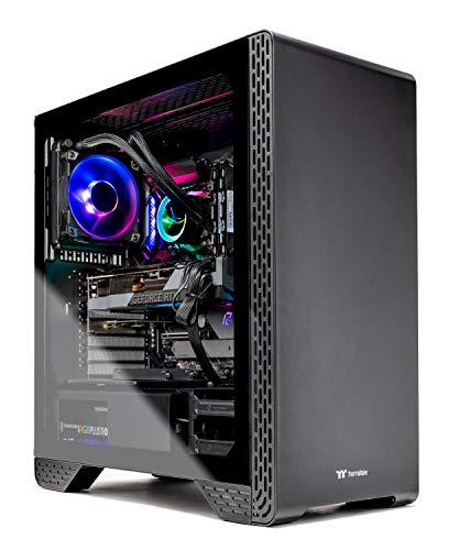 Skytech Siege 3.0 Gaming PC Desktop – Intel Core-i7 10700K 3.6GHz, RTX 3080 10GB, 16GB DDR4, 1TB NVME, 120mm AIO Liquid Cool, Z490 Motherboard, 750W PSU,