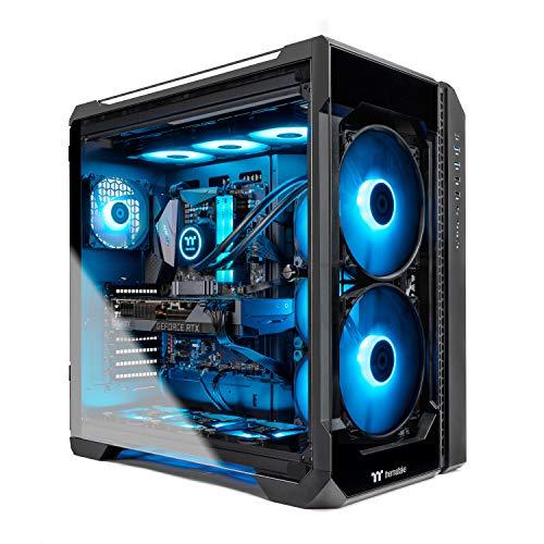 Thermaltake LCGS Ogle 380 AIO Liquid Cooled CPU Gaming PC (AMD RYZEN 9 3900X 12-core, ToughRAM DDR4 3600Mhz 16GB RGB Memory, RTX 3080 10GB, 1TB M.2,