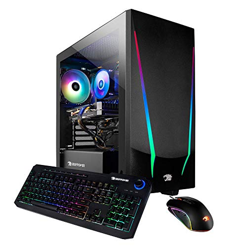 iBUYPOWER Gaming PC Computer Desktop Assign 4 9310 (AMD Ryzen 5 3600 3.6GHz, AMD Radeon RX 5500 XT 4GB, 8GB DDR4 RAM, 240GB SSD, WiFi Ready,