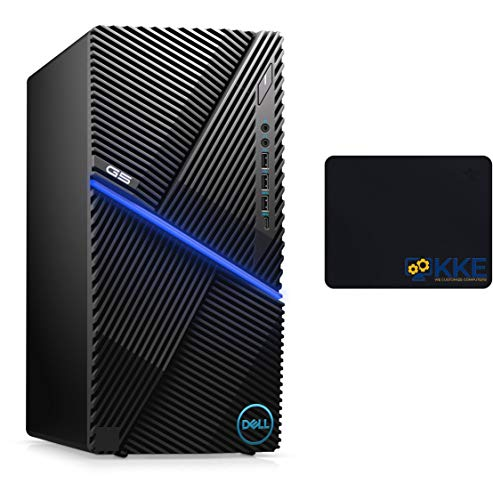Dell G5 Top rate Gaming Desktop Laptop, Intel Hexa-Core i5-10400F, NVIDIA GTX 1650 Neat, 12GB DDR4 RAM, 1TB HDD, HDMI, WiFi Bluetooth, Keyboard and Mouse, KKE Mousepad,