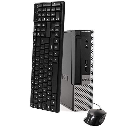 Dell Optiplex 9020 Extremely Tiny Diminutive Desktop Micro Computer PC, Intel Core i5-4570T, 8GB Ram, 256GB Solid Train SSD, WiFi, Bluetooth, Choose 10 Pro (Renewed)