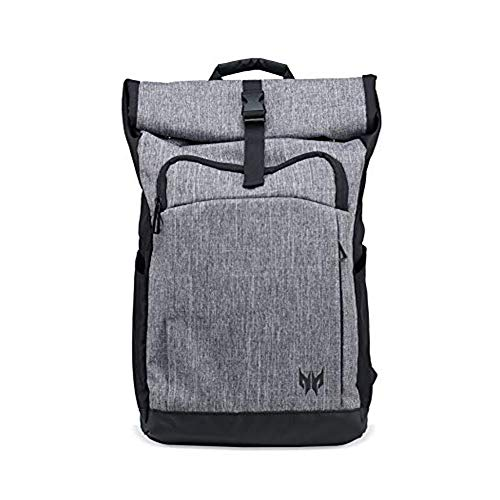 Acer Predator Rolltop Jr. Backpack – For All 15.6″ Gaming Laptops, Shuttle backpack, Organized Pockets for All Tools