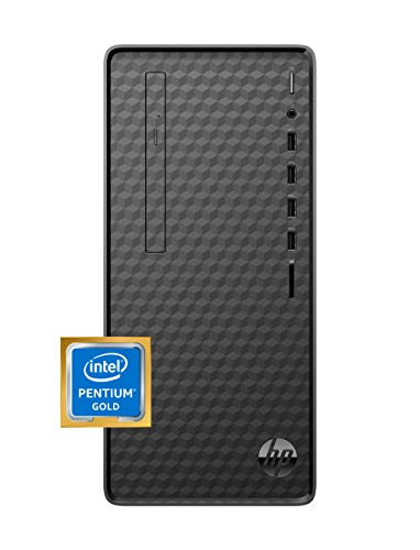 HP Desktop PC, Intel Pentium Gold G6400 Processor, 8 GB of RAM, 256 GB SSD Storage, Home windows 10, Excessive-Bustle Efficiency Laptop, 8 USB Ports, Industry,