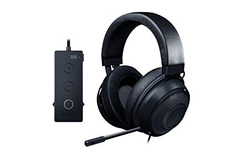 Razer Kraken Match Edition THX 7.1 Surround Sound Gaming Headset: Retractable Noise Cancelling Mic – USB DAC – For PC, PS4, PS5, Nintendo Switch, Xbox One,
