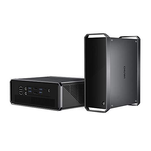 CHUWI CoreBox Pro Desktop Mini PC, tenth Gen Intel Core i3-1005G1, 12GB DDR4 256GB NVMe, Windows 10 Tower Computer Toughen 4K Video Decoding, Thunderbolt 3, 802.11ax Wi-Fi 6,