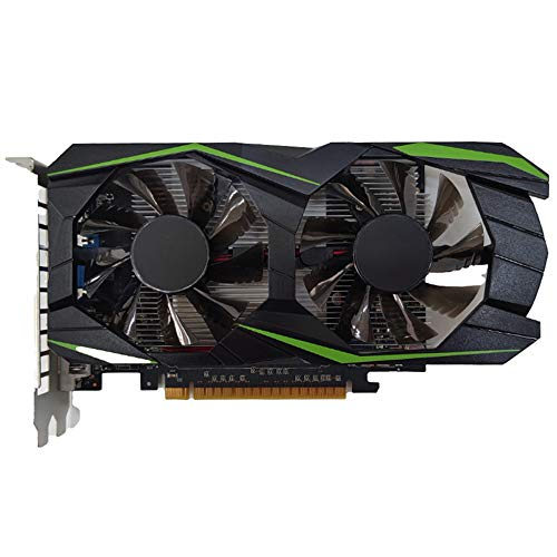 Official Sport Graphics Card,GTX550TI 1GB DDR5 128Bit Excessive-Efficiency Computer Gaming Graphics Card with Cooling Fan Low Noise Video Memory Card Properly matched with HDMI/VGA/DVI/PCI-E