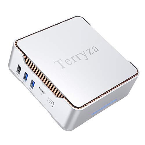 Mini PC 8GB DDR3/128GB m-SATA SSD Window 10 Reputable Intel Celeron N3350 (up to 2.4GHz) Mini Desktop Pc,Toughen 4K HD, Dual Band Wi-Fi 2.4G/5G,Gigabit Ethernet,HDMI/VGA…