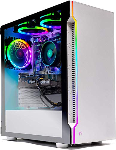Skytech Archangel Gaming Computer PC Desktop – Ryzen 5 3600 3.6GHz, GTX 1660 Enormous 6G, 500GB SSD, 16GB DDR4 3000MHz, RGB Followers, Windows 10 Home…