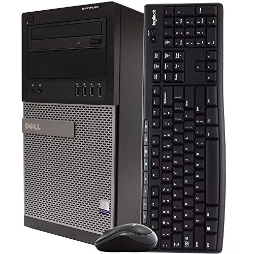 Dell Gaming Desktop Computer Tower PC, Intel Quad Core i5 3.2GHz, 16GB RAM, 128GB SSD + 500GB Tough Force, Home windows 10 Home, Nvidia GT1030…