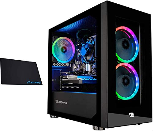 iBUYPOWER Gaming PC Computer Mini Desktop (AMD Ryzen 3 3100 3.6GHz, AMD Radeon RX 550 2GB, 8GB DDR4 RAM, 240GB SSD,WiFi Ready, Windows 10 Dwelling)…