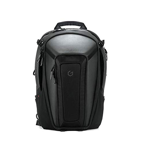 Carry+ Legitimate Computer computer Backpack 15 Traipse Exhausting Shell Safety Gaming Computer Derive Wintry Having a inquire Water-repellent for Work/Swap/Faculty/Faculty/Riding/Scuttle/Males/Females-Sad
