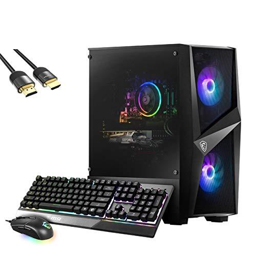 MSI Codex R 3060 Gaming Desktop PC, GeForce RTX 3060 12GB GDDR6, Intel Octa-Core i7-10700, 16GB RAM, 1TB SSD, Wi-Fi 6, Blutooth 5.1, DP/HDMI/DVI, Mytrix…