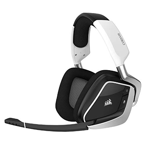 Corsair VOID RGB Elite Wi-fi Top payment Gaming Headset with 7.1 Encompass Sound – Discord Certified – Works with PC, PS5 and PS4 – White…